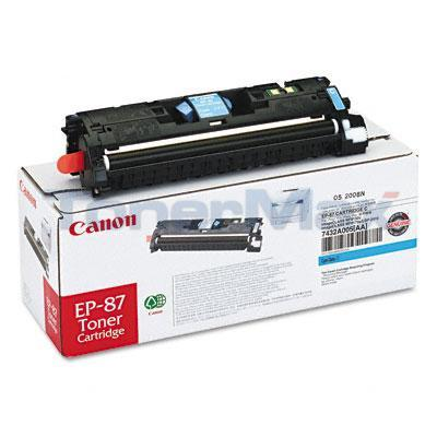 CANON EP-87 TONER CARTRIDGE CYAN
